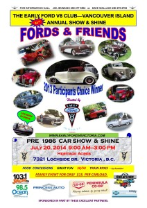 Fords and Friends 2014