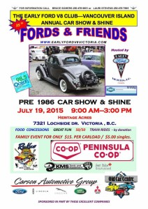 Fords and Friends 2015